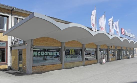 Das groe McDonaldsVerzeichnis Wolfsburg Hauptbahnhof