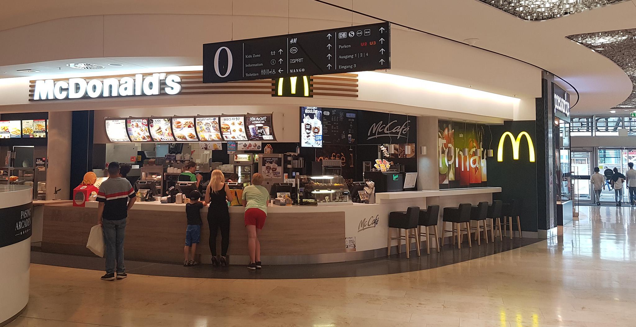 Das große McDonald's Verzeichnis München (Pasing Arcaden)