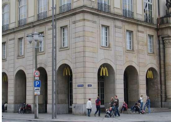 Das Große Mcdonalds Verzeichnis Dresden Wilsdruffer Straße