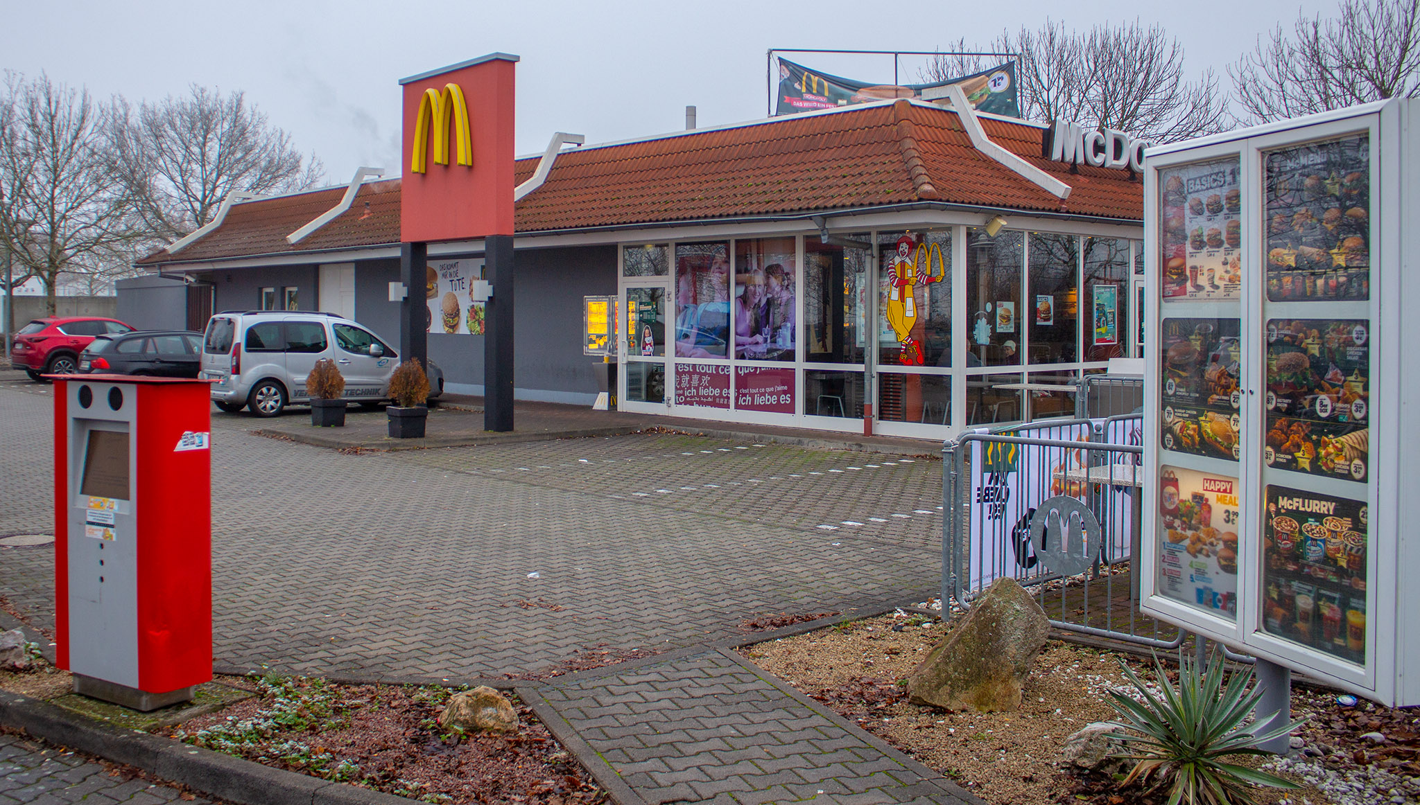 Das McDonald's-Restaurant in Riedstadt