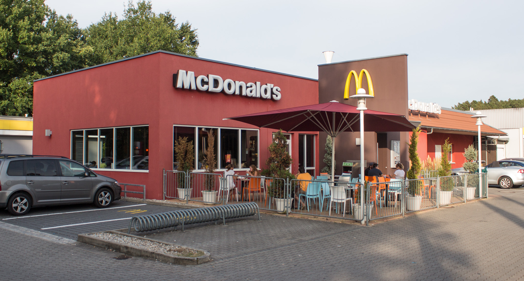 Das McDonald's-Restaurant in Roth