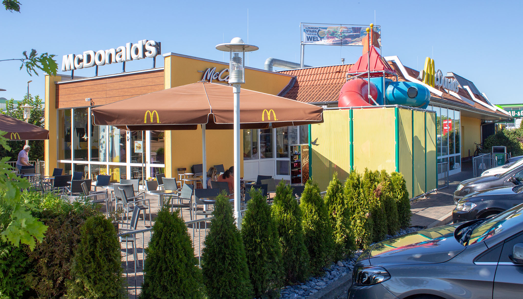 Das McDonald's-Restaurant in Fritzlar