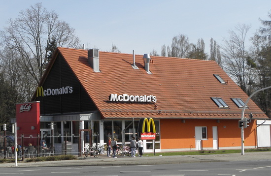 Das McDonald's-Restaurant in Salzgitter (Am Pfingstanger)